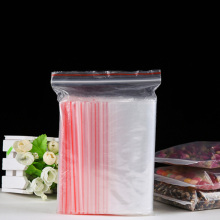 100pcs/pack Jewelry Ziplock Zip Zipped Lock Reclosable Plastic Poly Clear Storage Bags Thickness 0.05mm