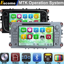 MTK3360 Car DVD Automotivo For FORD Galaxy 2010 2011 2012 Ford Kuga 2008 2009 2010 2011 2012 with Bluetooth Radio GPS Navigation(China)