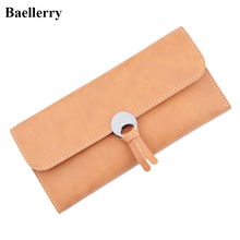New Designer Coin Women's Purses Sale Brand Long Hasp Leather Wallet Women Card Holders Ladies Clutch Phone Wallets Money Bags(China)
