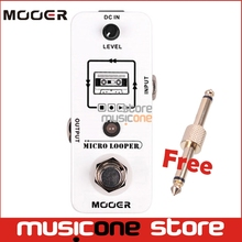 Mooer Micro Looper Recording Effect guitar Pedal Support to 30 Minutes Recording controlled by one single footswitch True Bypass(China)