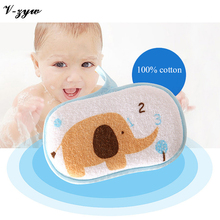 Buy Cute Cartoon Baby Bath Sponge Soul Super Soft Bathing Towel Cotton Infant Skin Care Bath Brush for $3.99 in AliExpress store
