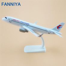 20cm Alloy Metal Air China Eastern Airlines Airbus 320 A320 B-1610 Plane Model Aircraft Airplane Model w Stand Gift(China)
