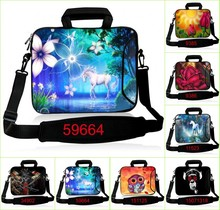Latest 10 11.6 12 13 13.3 15 15.4 15.6 17 17.3 inch Laptop Shoulder Bag Handbag W.Pocket For Apple HP Dell Acer Sony