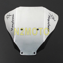 For Suzuki Hayabusa GSX 1300R 1999-2007 Motorcycle Aluminum Under Belly Pan Wing Cowl Cover Sliver