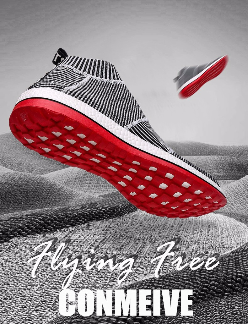 Hot Sale Breathable Men Shoes Mesh (air Mesh) Superstar Sneakers Light Flats Mens Loafers Casual Slip on Male Chaussure Homme 2