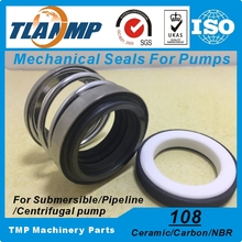 108-35 Mechanical Seals (Material: Ceramic/Carbon/NBR) Shaft Size 35mm Single Spring Pump Seal Used in Clean/Waste Water,Oil(China)