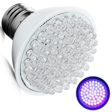 Ultra Bright E27 UV Ultraviolet Color Purple Light 60LED Lamp Bulb 110/220V reliable quality