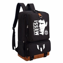 Lionel Messi backpack  fashion casual backpack teenagers Men women's Student School Bags travel bag NO.10