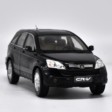 1:18 Scale Honda CR-V 2008 Black SUV Alloy Diecast Model Car Toy For Kids Christmas Gifts Collection Free Shipping(China)