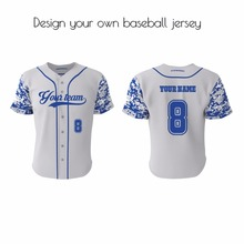 cheap custom baseball jerseys pinstripe baseball jersey / polyester dry fit baseball jersey