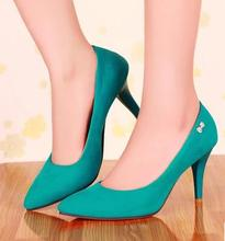 women thin high heel shoes lady party suede sexy brnad lady fashion heeled dress pumps heels shoes size 31-43