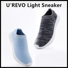 Buy Xiaomi Ecological Chain Brand-U'REVO Leisure Light Sneaker Shoes Breathable Vamp Integreated Socks Wearable Smart Home for $65.99 in AliExpress store