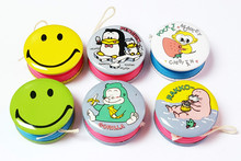 4 piece 36mm (1.4 inch) mini yoyo pocket toys birthday party favors pinata bag filler loot prizes novelty FILLER LUCKY carnival