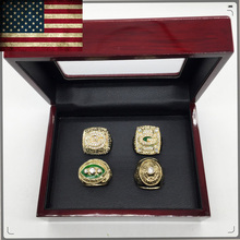 1966/1967/1996/2010 Super Bowl 4 Years Sets Green Bay Packers Championship Rings,sets Factory direct sale Replica ring,present(China)