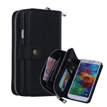 2017 Special Offer Rushed No Pouch Luxury Phone Flip Cases For Samsung Galaxy S5 Smartphone Android Mobile Bag Celular For 177