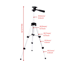 Aluminum Professional Telescopic Camera Tripod Stand Holder For Digital Camera Camcorder Tripod For iPhone Samsung Smart Phone