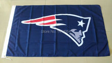 New England Patriots  Navy LOGO   Flag  150X90CM Banner 100D Polyester 3x5 FTflag brass grommets 001, free shipping