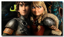 How To Train Your Dragon 2 Art Silk Poster Print 13x24 24x43 inches Cartoon Movie Pictures for Living Room Decor 034