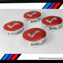 4pcs Hot sale 60mm Mustang Snake Cobra logo car emblem Wheel Center Hub Cap Auto badge covers styling Free shipping