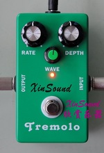 Vintage Analog Tremolo Guitar Effects Pedal TR-70 XinSound and WAVE ADJUST QUALITY BUILD TRUE BYPASS NEW/NICE
