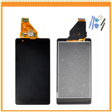 For Sony for Xperia ZR M36h C5503 C5502 Full LCD Display+Touch Screen Digitizer Assembly Replacement + tools