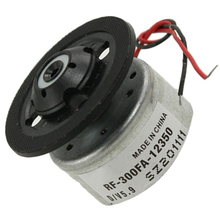 WSFS Hot RF-300FA-12350 DC 5.9V Spindle Motor for DVD CD Player Silver+Black