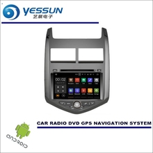 Wince / Android Car Multimedia Navigation For Chevrolet Sonic / Aveo 2011~2016 / CD DVD GPS Player Navi Radio Stereo HD Screen(China)