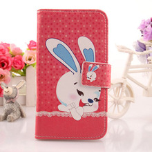 "ABCTen Luxyry Cartoon Book Design PU Leather Cover Cell Phone Case For thl 4000 4.7"" Zoll Dual SIM 2 Wallet Holster(China)"