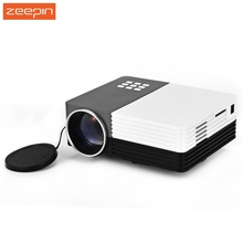 Zeepin GM50 Portable Home Theater Cinema Beamer LED LCD Projector Video 3D Projector With Remote Controller AV/USB/SD/VGA HDMI