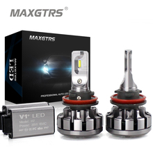 MAXGTRS H1 H3 H7 H4 H8 H11 9005 HB3 9006/HB4 9012 880 881 Car LED Headlights CANBUS Auto Front Bulb Automobiles Headlamp - X-Car LED&AUTO Supplies store