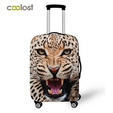 Cheetah / Lion Animal Print Luggage Protective Covers Suitcase Covers 3d Print Trolley Luggage Dust Protection Covers For Men