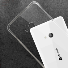 Transparent Clear Back Cover Case For Nokia Microsoft Lumia 535 435 540 550 640 650 635 730 735 830 930 950 XL 640XL 950XL(China)