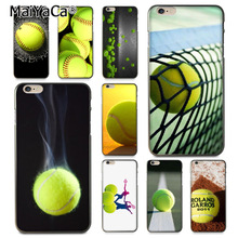 Buy MaiYaCa tennis ball movement Classic image paintings cover mobile phone Case Apple iPhone 8 7 6 6S Plus X 5 5S SE 5C for $1.45 in AliExpress store