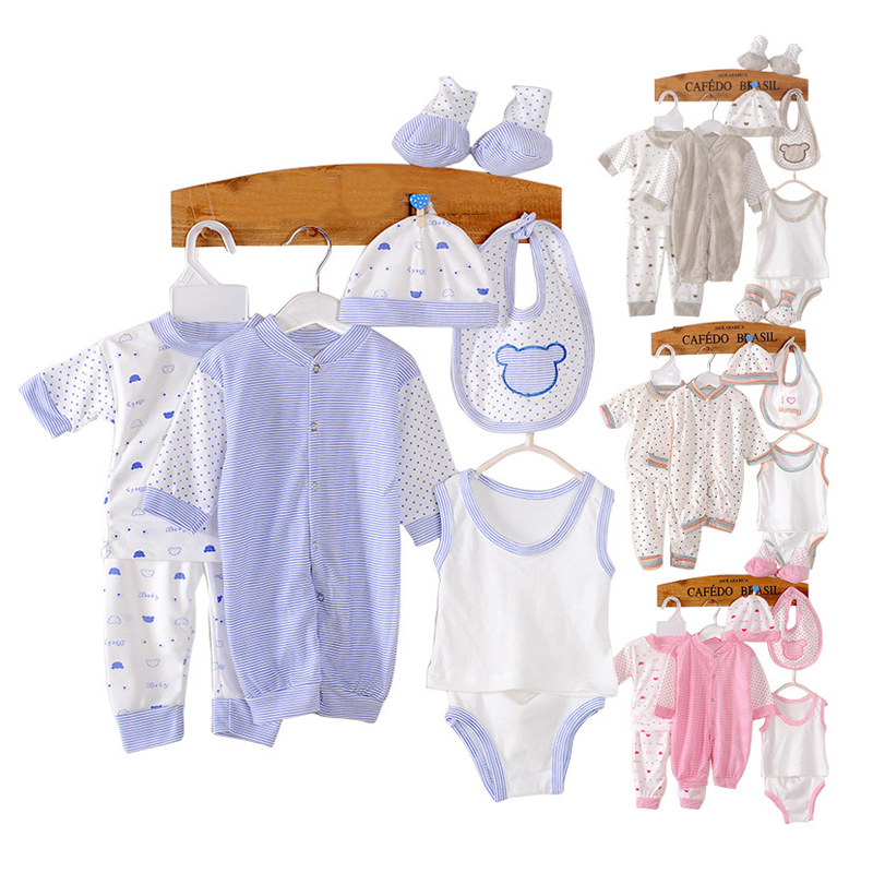 Aliexpress Com 8pcs Baby Rompers High Quality Newborn Clothes Boy Clothing Gifts Layette Uni Set From