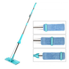 Free Hand Wash Filter From Flat Tipping Type Mop Floor Rotating Multifunction Lazy Mop Squeezing Water Mop With 2 Head