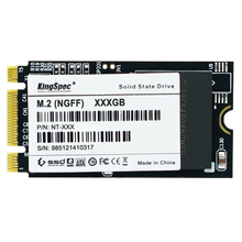 Free Shipping KingSpec 22*42mm NGFF SSD 64GB 128GB SATA III 6Gb/s Internal Solid State Drive NGFF For Notebook M.2 120G SSD disk(China)