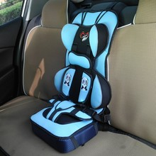2017 New Infant Safe Seat Baby Safety Seat Protection 1-12 Year Old Kids International Standard Sponge Baby Sitting Chair In Car