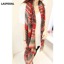 LASPERAL Scarf Women Spring Autumn Joker Scarves Ethnic Style Shawl Scarf Two Dual Sunscreen Voile Silk Scarf For Women 170x80cm