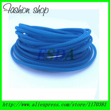 10 Meters/ Lot Flexible 2mm  Round PET braided cable sleeve wire sleeving 10m/reel