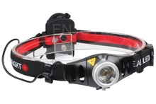 Adjustable Focus 2000 Lumens CREE Q5 LED Headlamp Outdoor Camping Head Light Torch 2 Modes For AAA Battery
