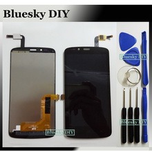Black For huawei Honor Holly 3G / Honor 3C Play / Hol-U19 Hol-T00 HOL-U10 LCD Display + Touch Screen Digitizer Assembly + Tools