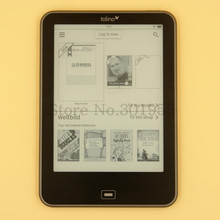Carta E-book 6 inch Front light Tolino Vision Touch Eink Screen 4GB WIFI EBook Reader, optional to install Android system!