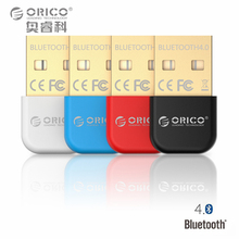 ORICO BTA-403 Mini Bluetooth 4.0 Adapter Support Windows10/Windows8/Windows 7/ Vista/XP-Black/White/Red/Blue