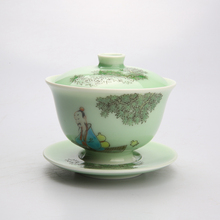 The One And Only Limited Edition Flower Tea Cup Jingdezhen Porcelain Hand Made China Teacup Gaiwan Chinese Great Master Works