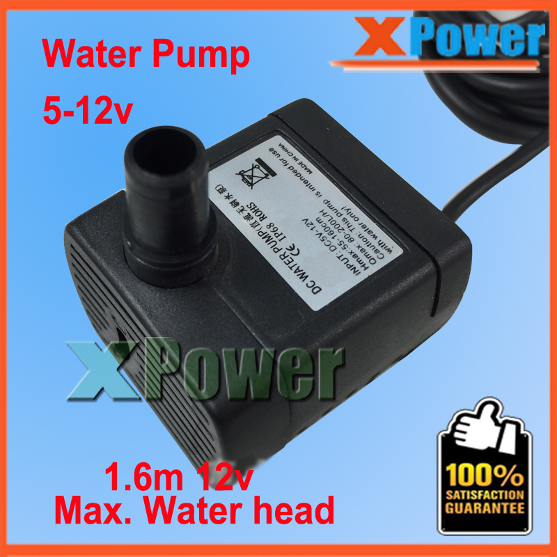 Solar Fountain Mini Water Pump 7v DC Micro Brushless Submersible Pump 6v 5v for Garden Free shipping<br><br>Aliexpress