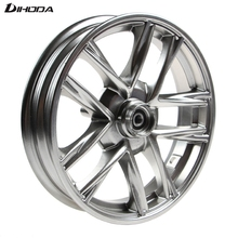 Universal 10*2.15 Aluminum Alloy Motorcycle modified front wheel Rims For Single Disc Disk Brake