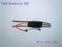 3pcs/lot 125A brushless motors esc For RC Airplane remote control airplane parts + Free Shipping By EMS Fast Delivery Wholesale(China)