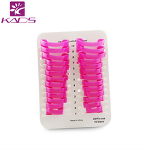 KADS 26pcs/set Professional Manicure Finger Nail Art Case Design Tips Cover Polish Shield Protector Tool(China)