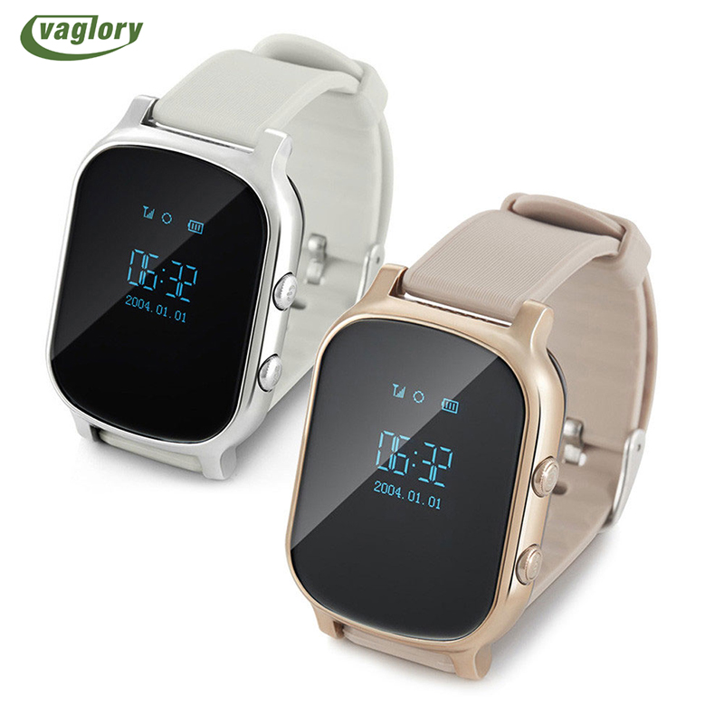 Vaglory T58 GPS Tracker Smart Watch Locator Anti-Lost for Kids Children Student Smartwatch With SOS Remote Monitor<br>