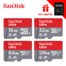 100% Original Sandisk Micro SD card Class10 TF card16gb 32gb 64gb 128gb 80Mb/s memory card for samrtphone and table PC(China)